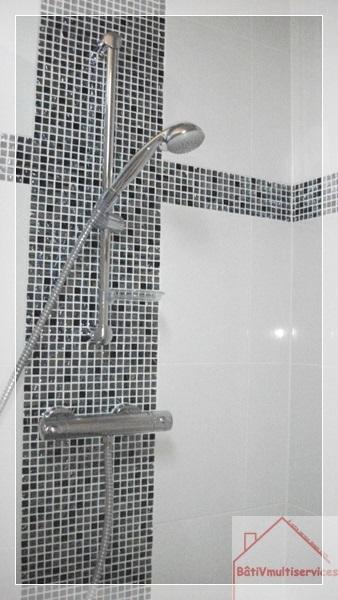 salle de bains  noir et blanc BVM