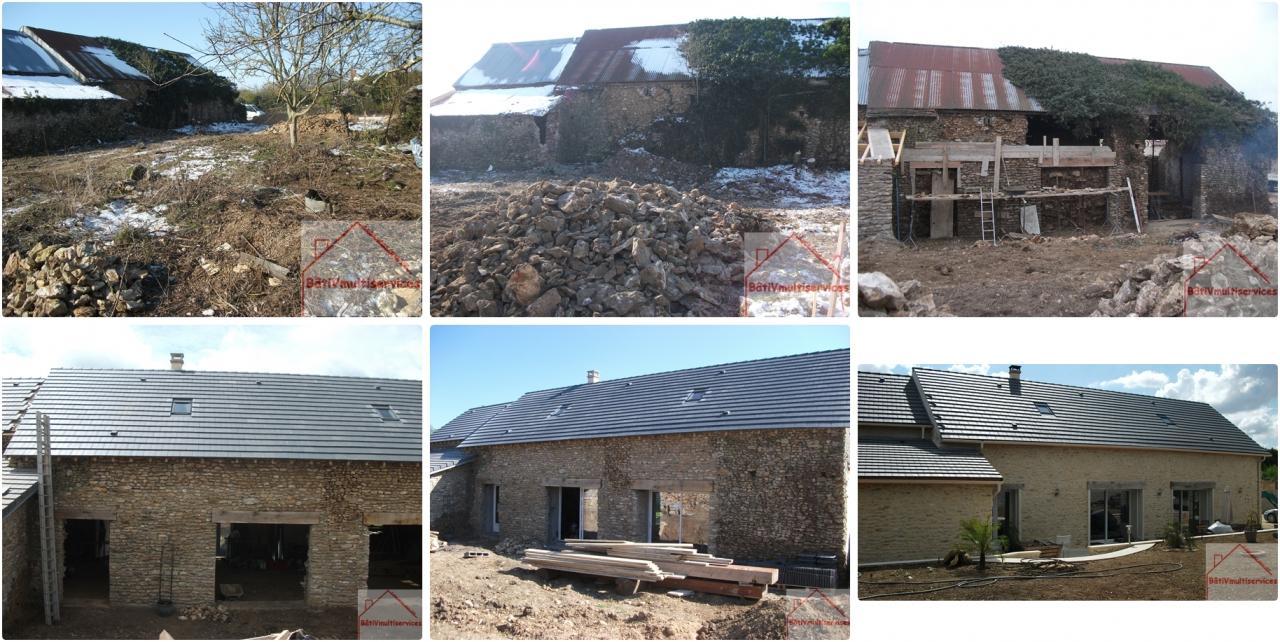 Grange rénovation totale