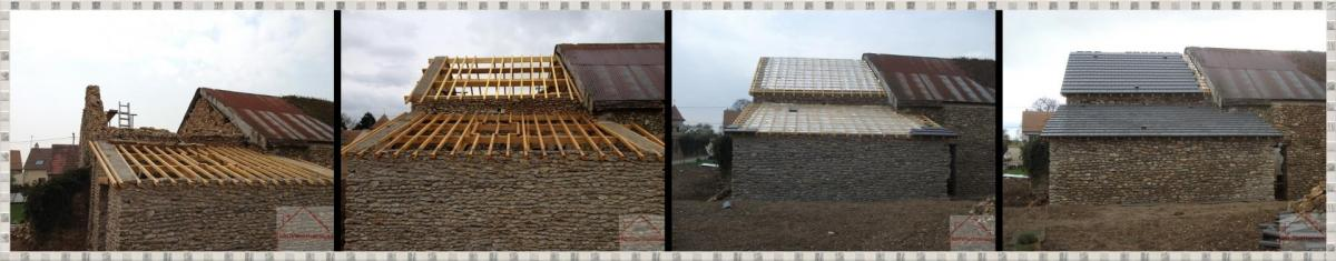 Refection totale d une toiture 1